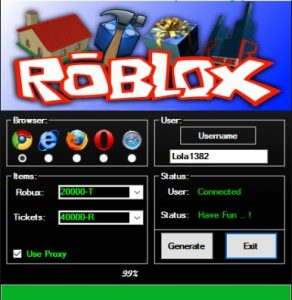 Roblox Robux Generator V10 Free Download